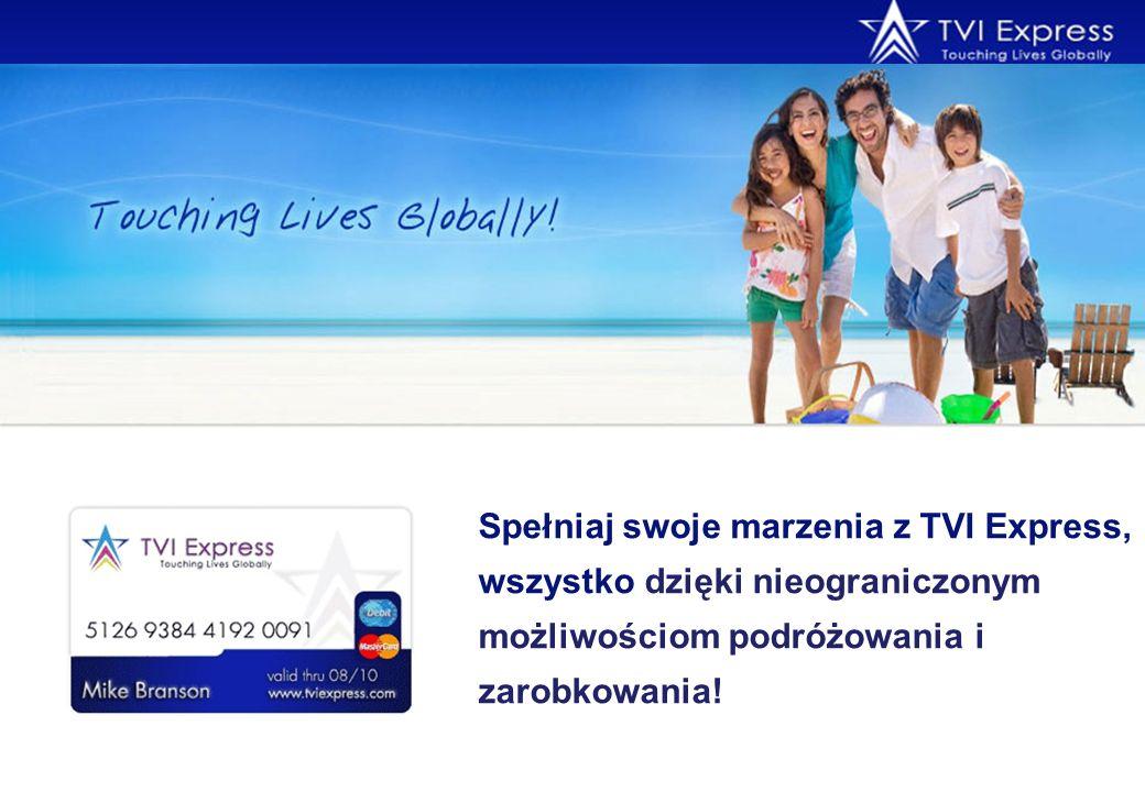 Spełniaj swoje marzenia z TVI Express, wszystko dzięki nieograniczonym możliwościom podróżowania i zarobkowania!