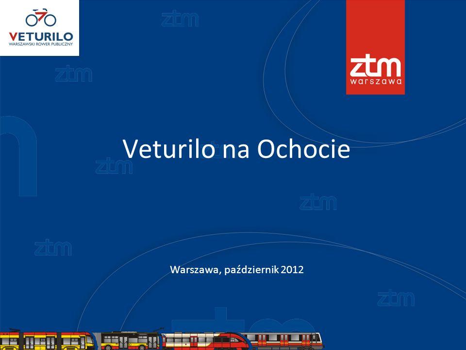 Veturilo na Ochocie Warszawa, październik 2012