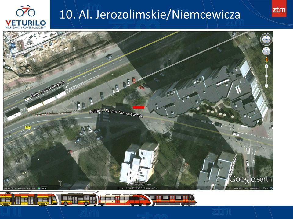 10. Al. Jerozolimskie/Niemcewicza