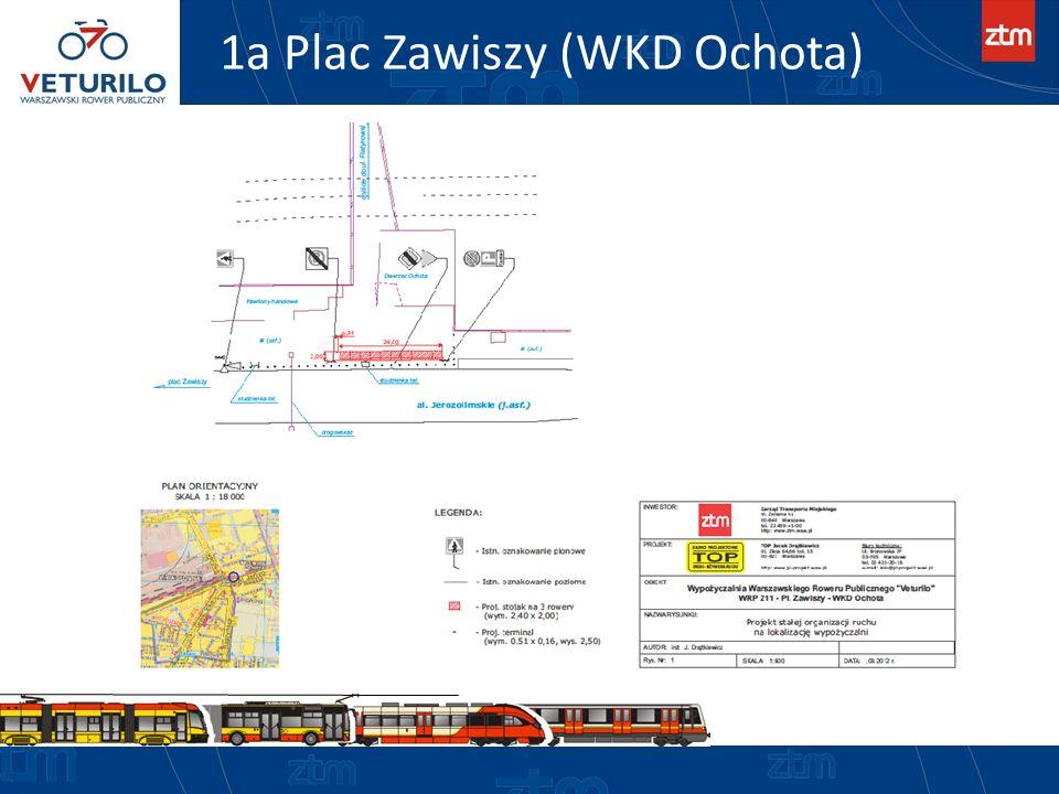 1a Plac Zawiszy (WKD Ochota)