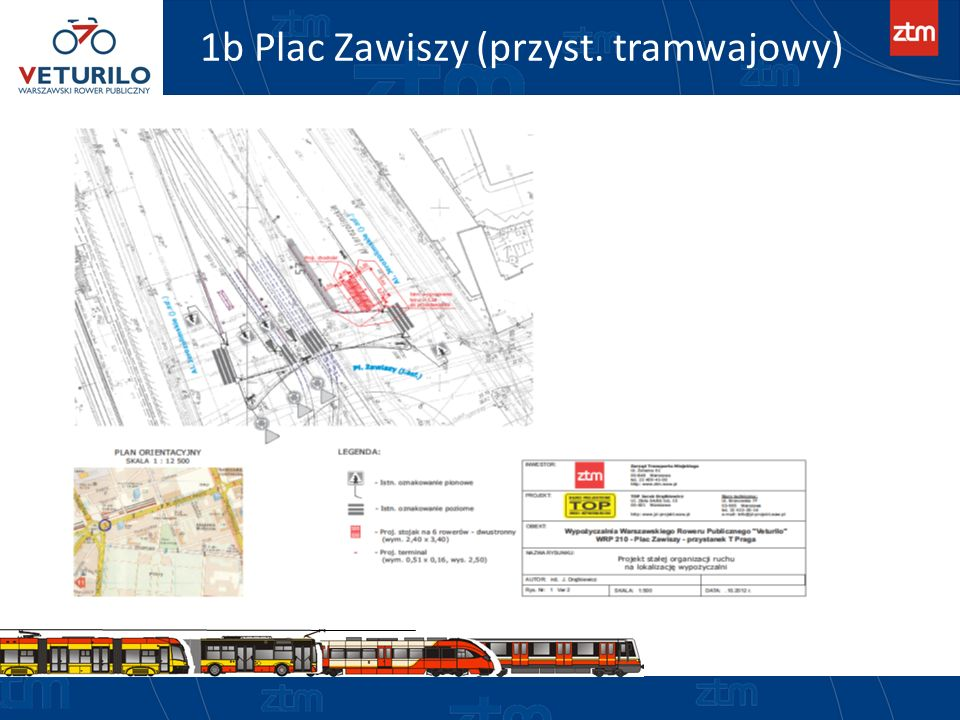 1b Plac Zawiszy (przyst. tramwajowy)