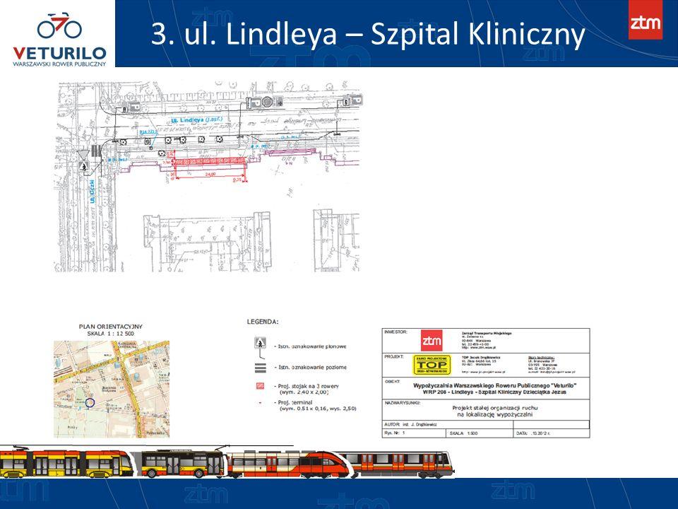 3. ul. Lindleya – Szpital Kliniczny