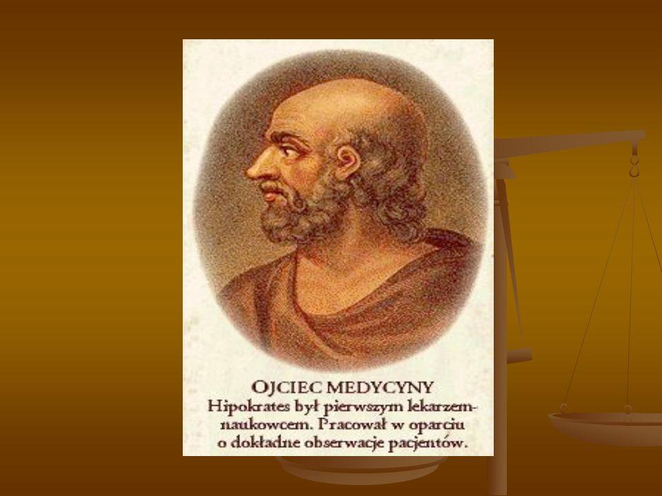 Historia psychiatrii Ojcem psychiatrii jest Hipokrates ( 470-366 p.n.e.)- opisał niektóre z psychoz endogennych i egzogennych, podjął próbę klasyfikacji psychoz Ojcem psychiatrii jest Hipokrates ( 470-366 p.n.e.)- opisał niektóre z psychoz endogennych i egzogennych, podjął próbę klasyfikacji psychoz Galen – II w.