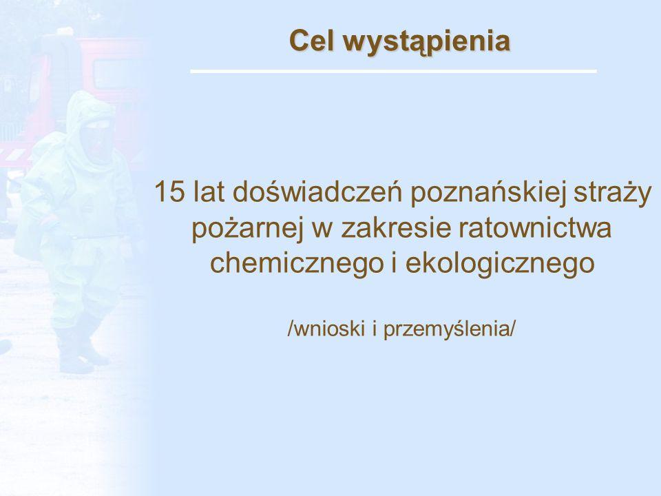 Dziękuje za uwagę Opracowanie: bryg.dr inż. Jeży Ranecki – KM PSP Poznań kpt.