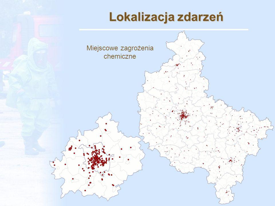 Lokalizacja zdarzeń Miejscowe zagrożenia ekologiczne