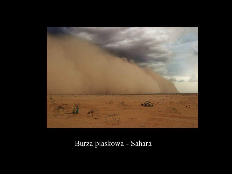 Burza piaskowa - Sahara