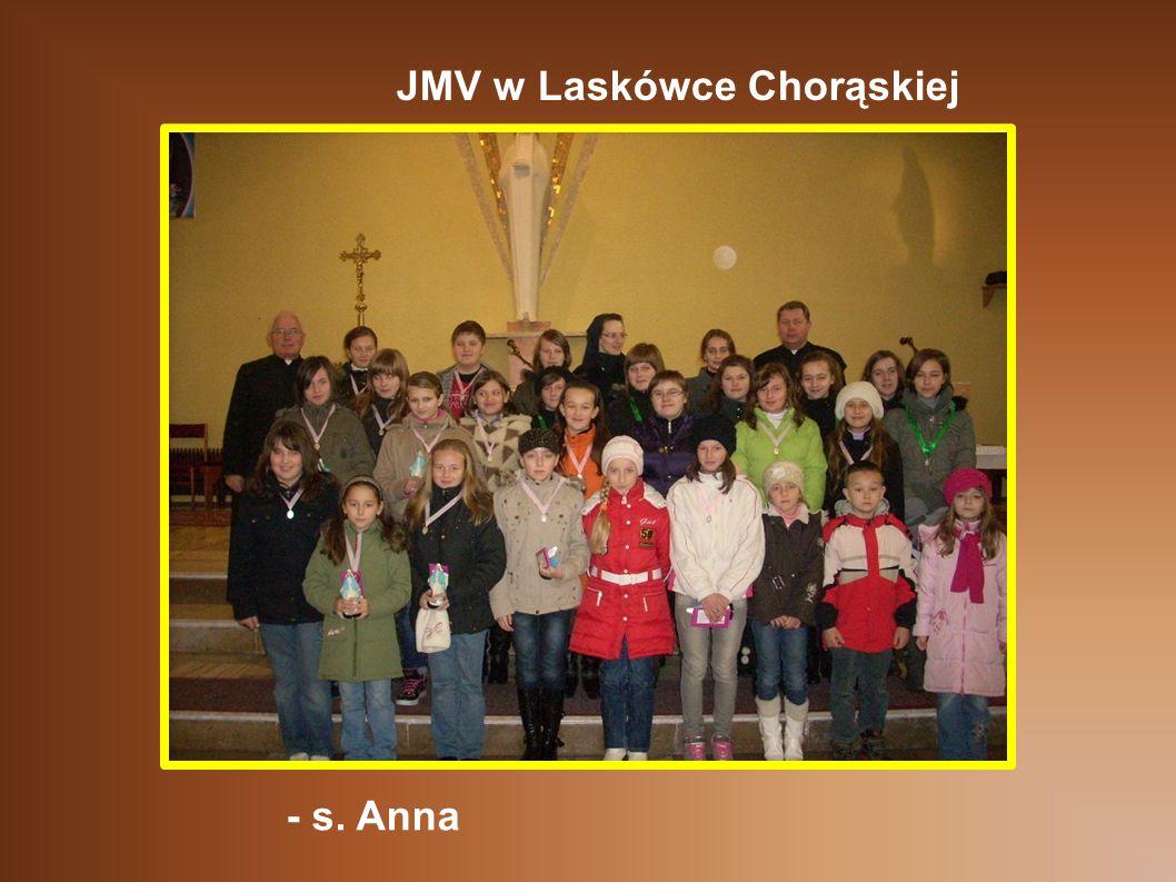 JMV w Laskówce Chorąskiej - s. Anna
