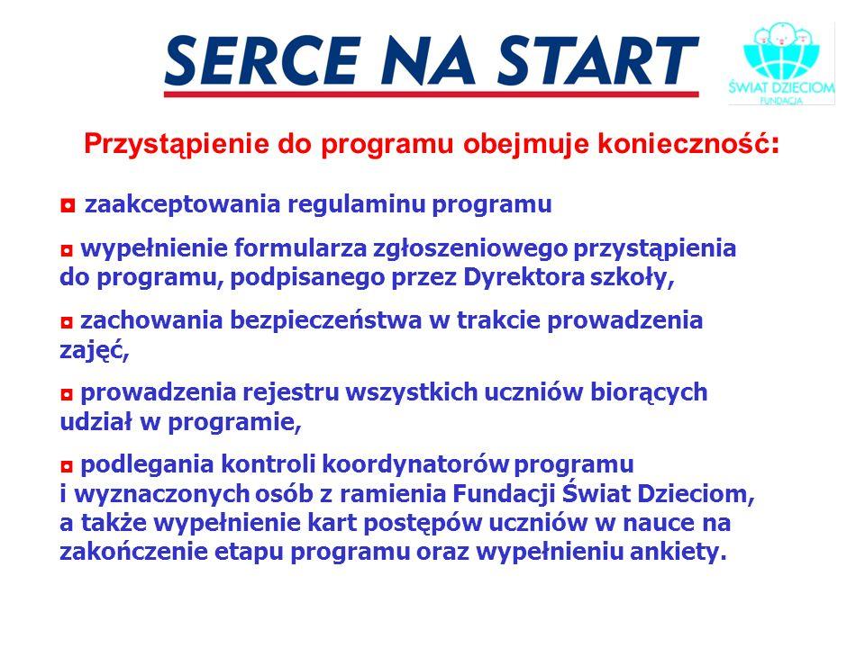 JESTEŚMY BLISKO 0-12 423 25 72 W razie jakichkolwiek kłopotów z przeprowadzaniem zajęć, jesteśmy blisko – nauczyciele zawsze mogą skontaktować się kierownikami szkolenia lub koordynatorami programu z ramienia Fundacji Świat Dzieciom: Barbara Boniek: 0-510 07 05 46, basia@swiat-dzieciom.pl Sylwia Wrona: 0-510 07 05 36 sylwia@swiat-dzieciom.pl www.swiat-dzieciom.pl fundacja@swiat-dzieciom.pl
