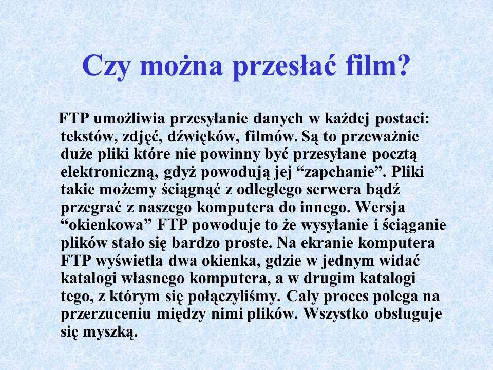 FTP czy PKP FTP brzmi podobnie jak PKP. Podobieństwo nie kryje się tylko w nazwie, gdyż spełniają bardzo podobne funkcje z tą różnicą że PKP przewozi