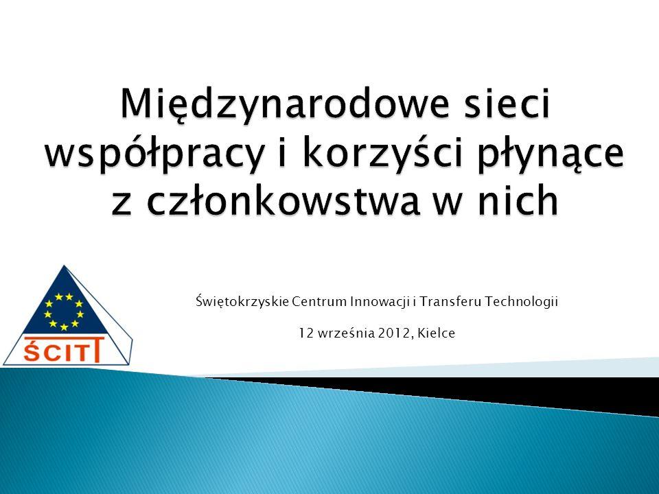 Świętokrzyskie Centrum Innowacji i Transferu Technologii 12 września 2012, Kielce