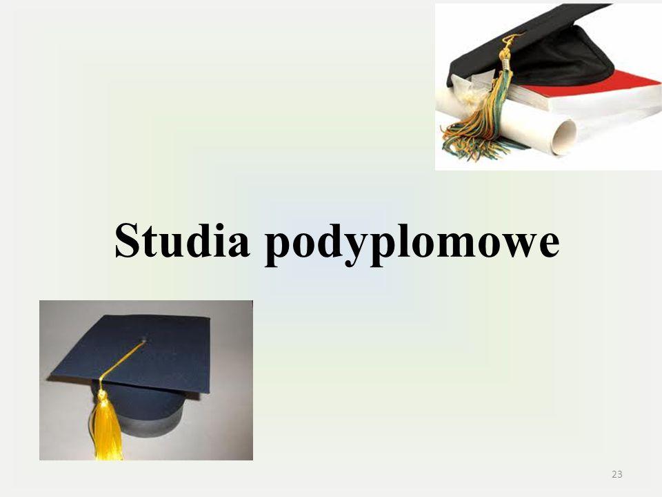 Studia podyplomowe 23