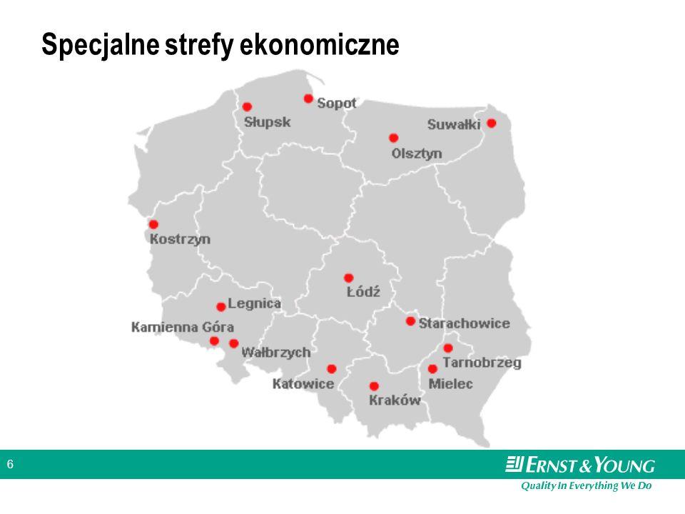 6 Specjalne strefy ekonomiczne
