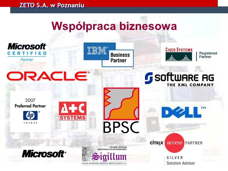 ZETO S.A. w Poznaniu Współpraca biznesowa
