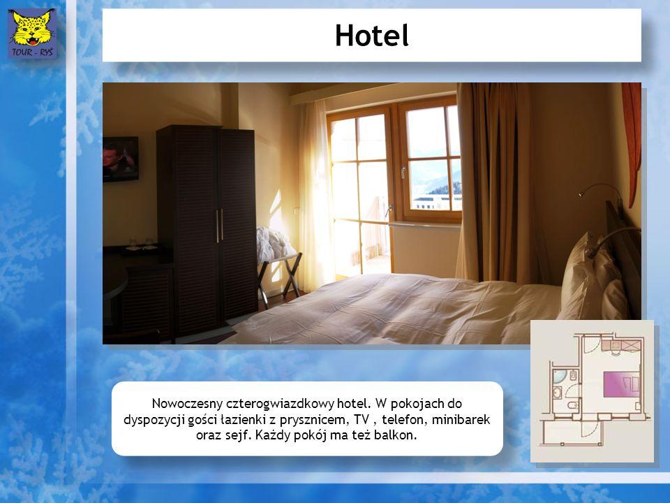 Hotel Nowoczesny czterogwiazdkowy hotel.