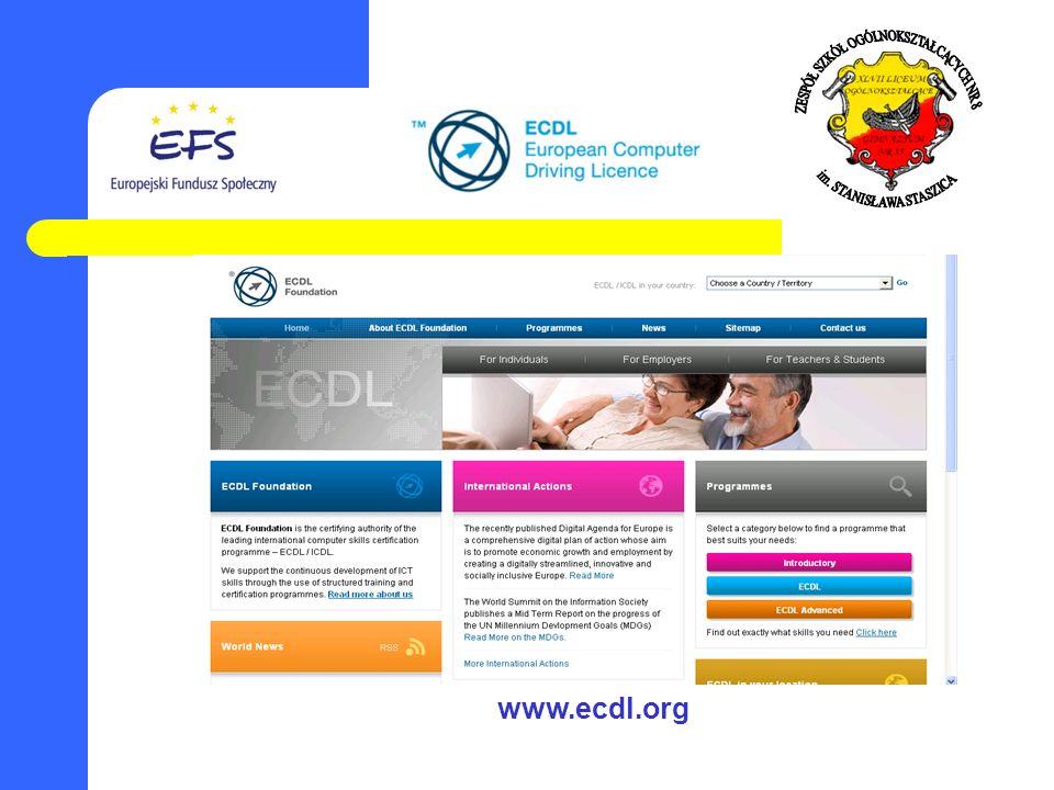 www.ecdl.org