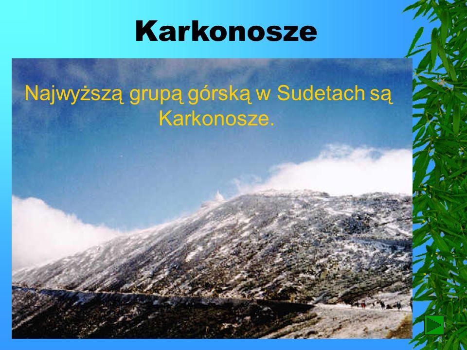 Góry średnie Przykładem krajobrazu gór średnich są Sudety.