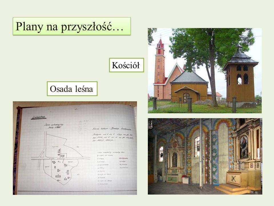 Plany na przyszłość… Osada leśna Kościół