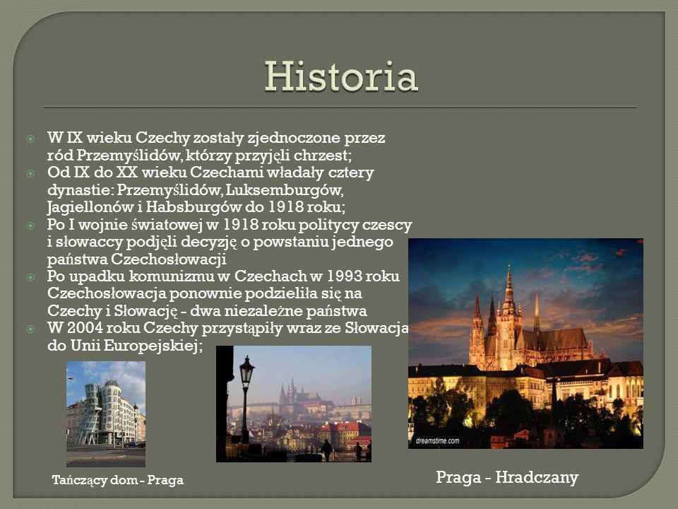 Most Karola - Praga Z ł ota uliczka - Praga Karlowe Wary Zamek Karlstein Liberec Zamek Frydland