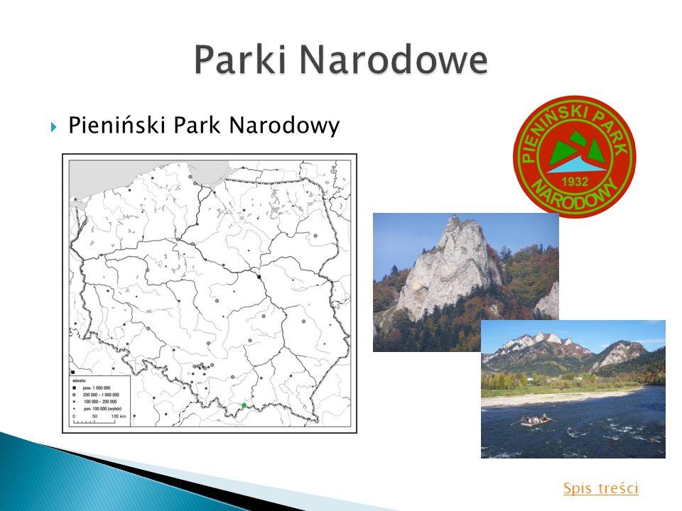 Pieniński Park Narodowy Spis treści