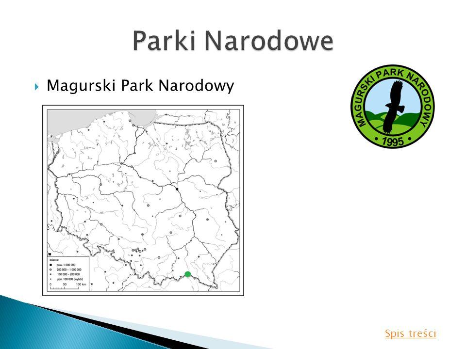Magurski Park Narodowy Spis treści