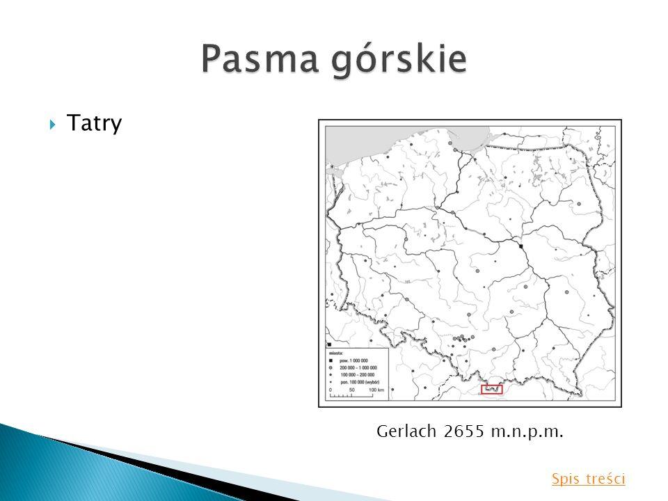 Tatry Gerlach 2655 m.n.p.m. Spis treści