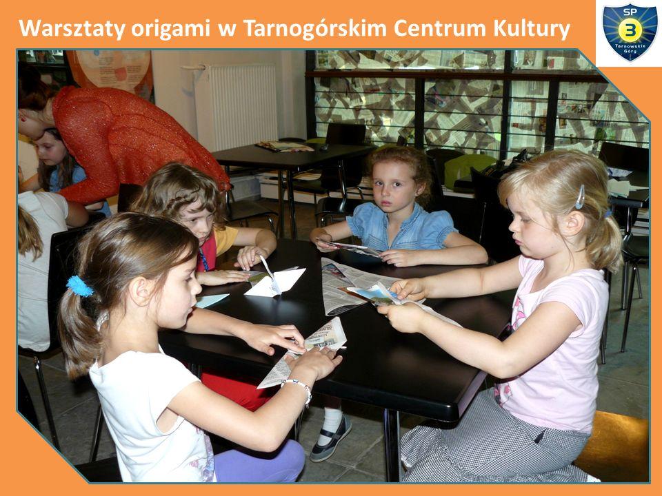 Warsztaty origami w Tarnogórskim Centrum Kultury