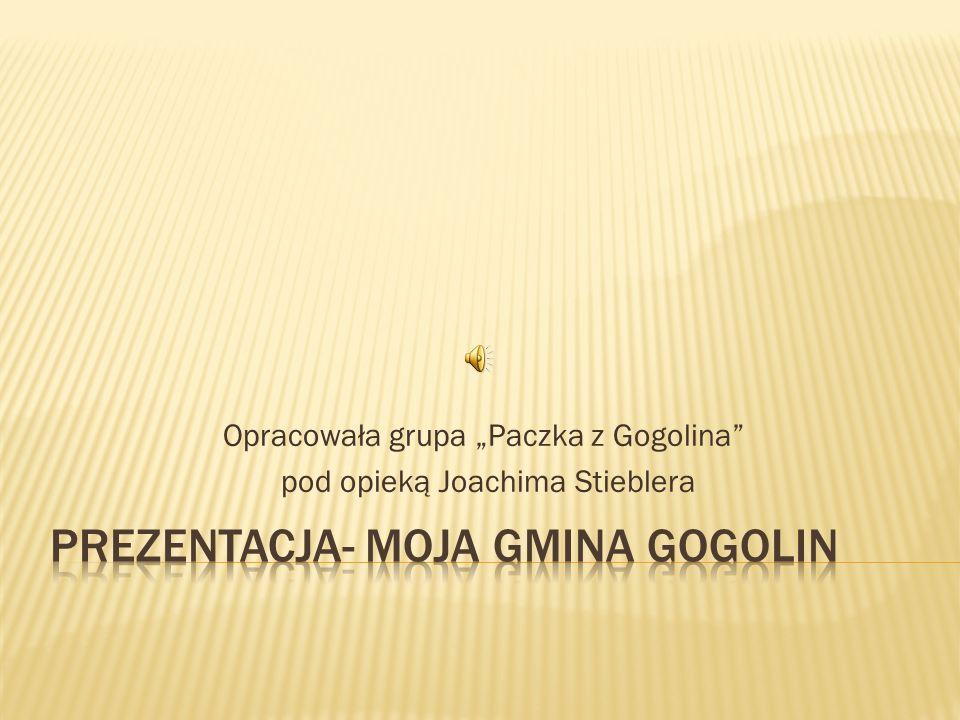 Opracowała grupa Paczka z Gogolina pod opieką Joachima Stieblera
