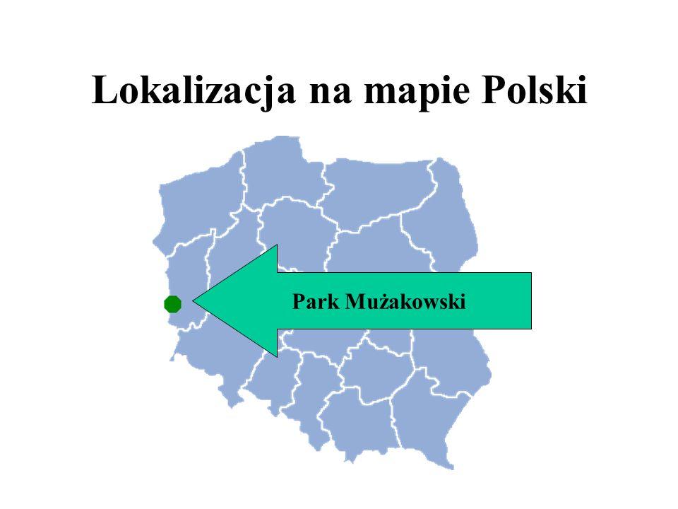 Park krajobrazowy o powierzchni 559,90 hektarów, rozciągający się po obu stronach Nysy Łużyckiej, wzdłuż której przebiega granica polsko-niemiecka, został stworzony przez księcia Hermana von Puckler-Muskaua w latach 1815-1844.