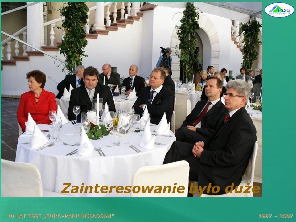10 LAT TSSE EURO-PARK WISŁOSAN 1997 – 2007 Oddział ARP Tarnobrzeg prawie w komplecie
