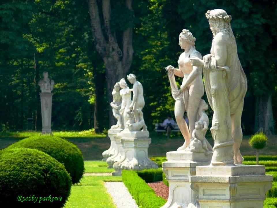 DA - MA Aleje parkowe i grupy rzeźb