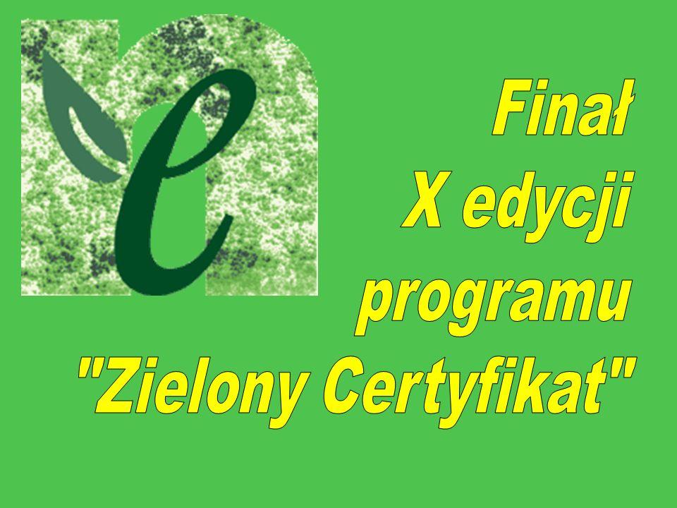 REALIZATORZY Fundacja Ośrodka Edukacji Ekologicznej Program realizuje we współpracy z Młodzieżowym Domem Kultury im.