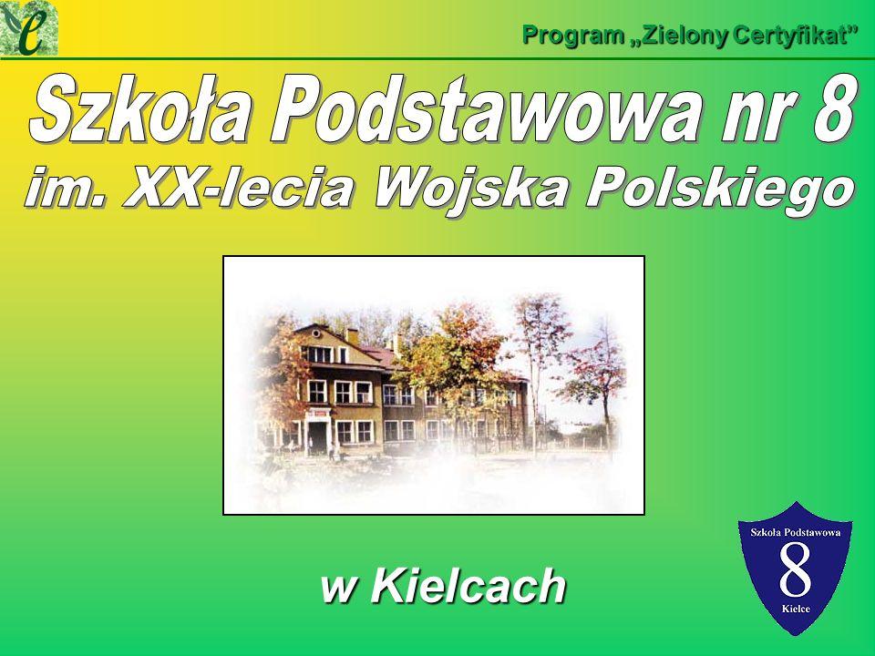 w Kielcach w Kielcach Program Zielony Certyfikat