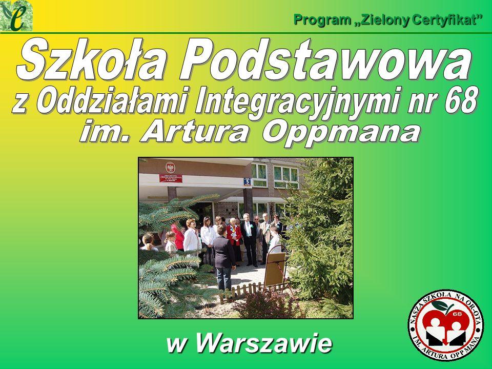 w Warszawie w Warszawie Program Zielony Certyfikat