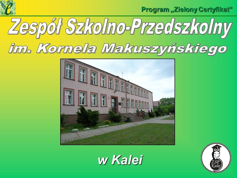 w Kalei w Kalei Program Zielony Certyfikat