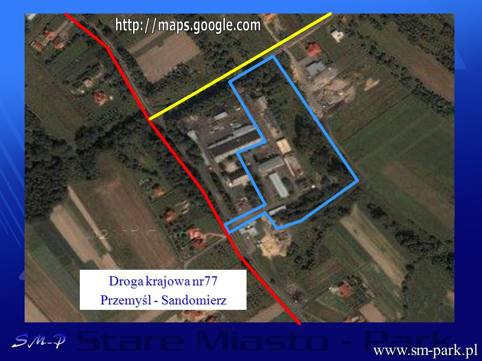 www.sm-park.pl Droga krajowa nr77 Przemyśl - Sandomierz