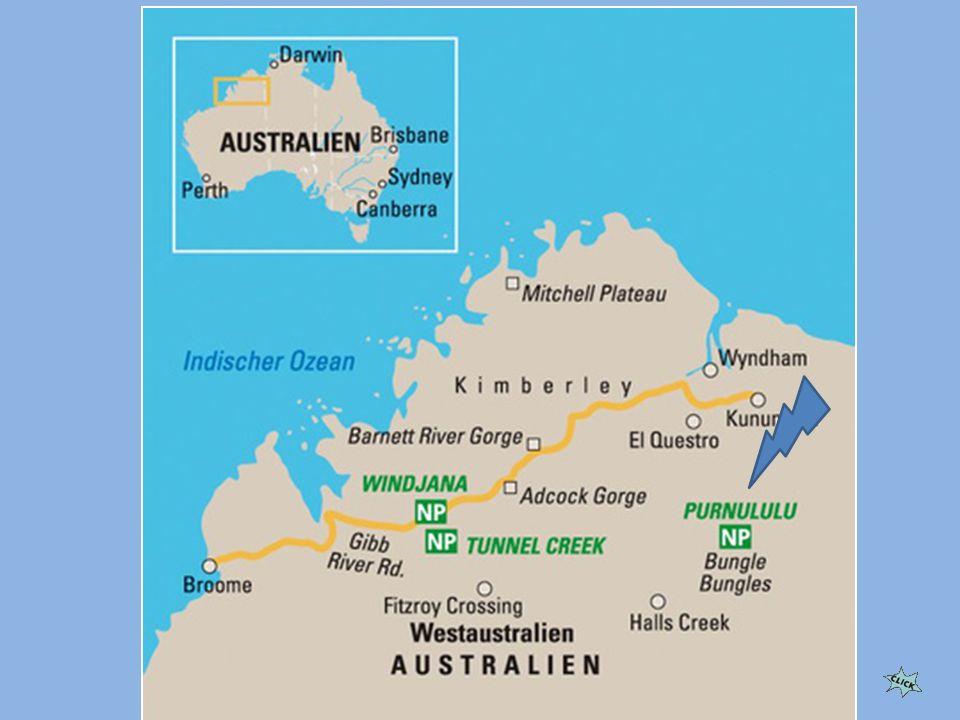 Park Narodowy Purnululu położony jest w zachodniej części Australii.