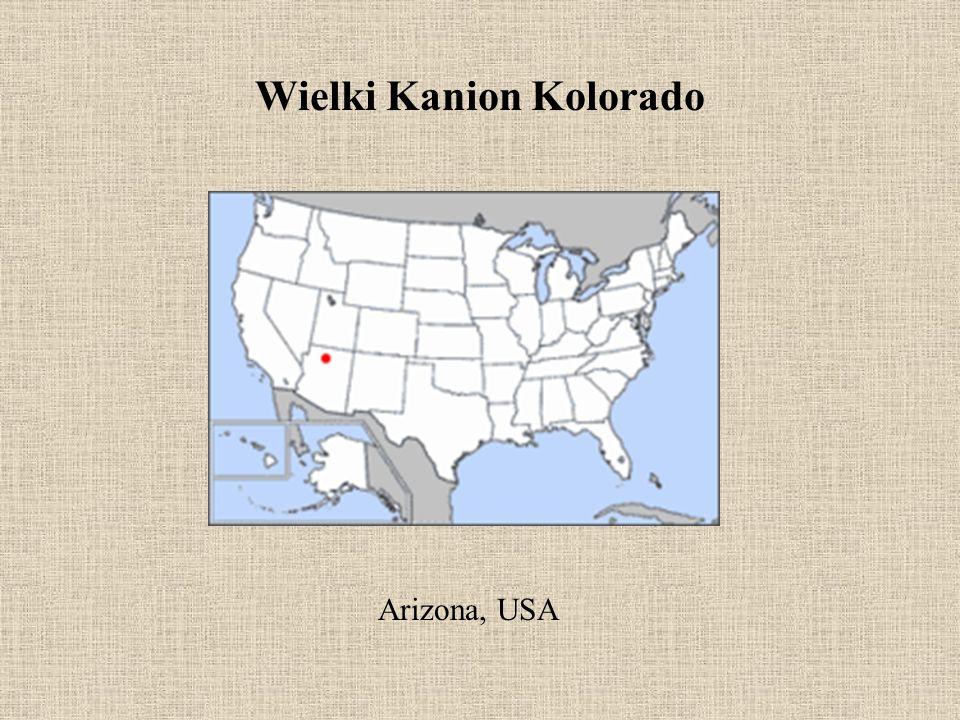 Wielki Kanion Kolorado Arizona, USA