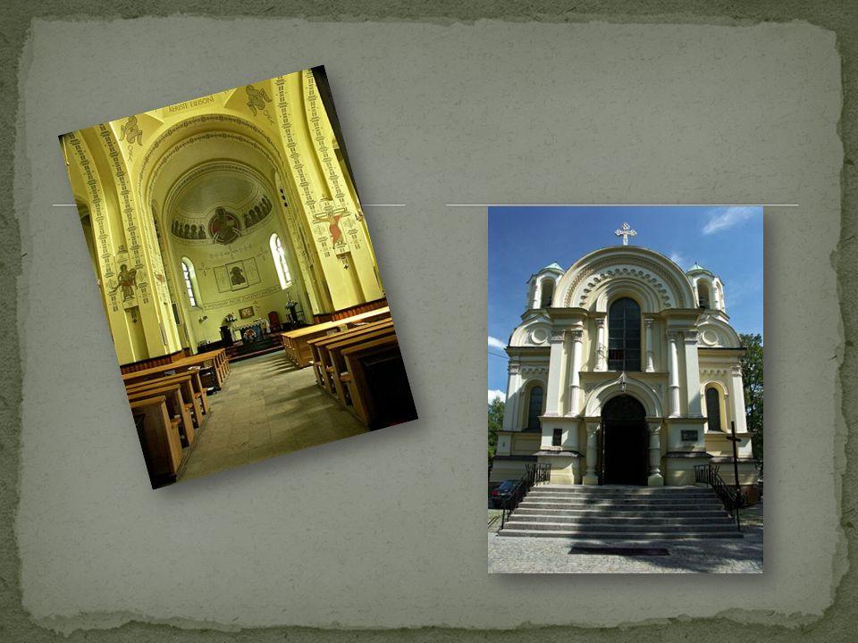Zabytkowy kościół w częstochowskim Starym Mieście, przy pl. Ignacego Daszyńskiego.