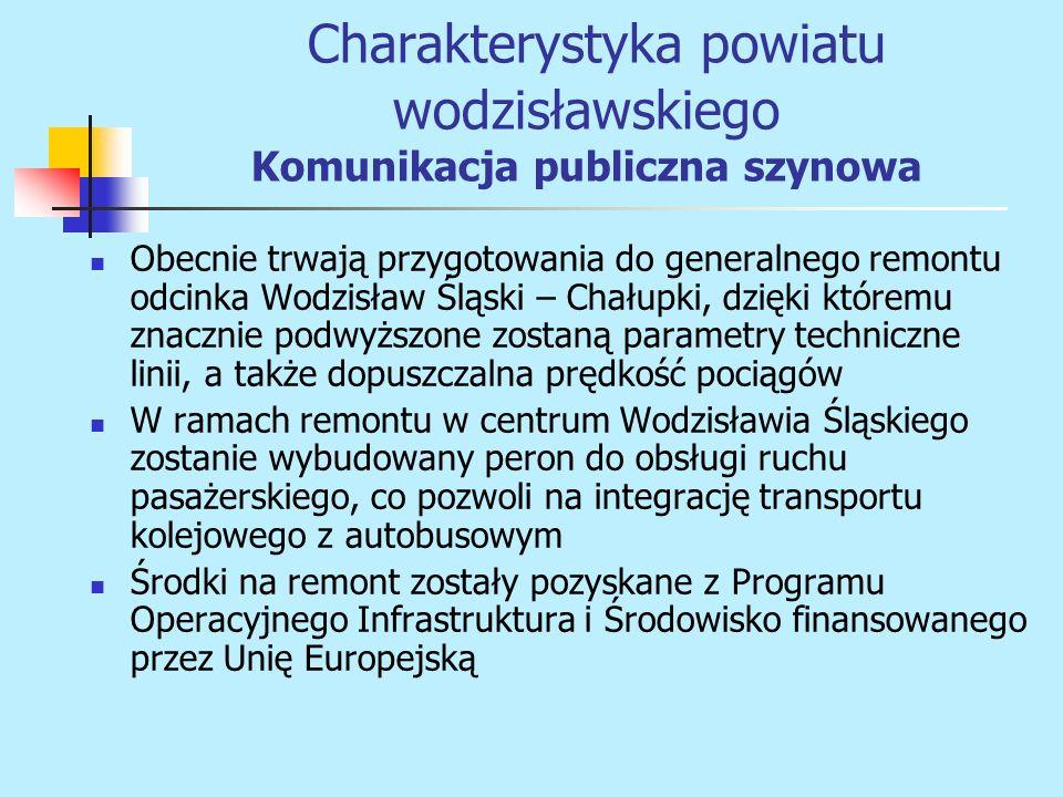 Obecnie trwają przygotowania do generalnego remontu odcinka Wodzisław Śląski – Chałupki, dzięki któremu znacznie podwyższone zostaną parametry technic