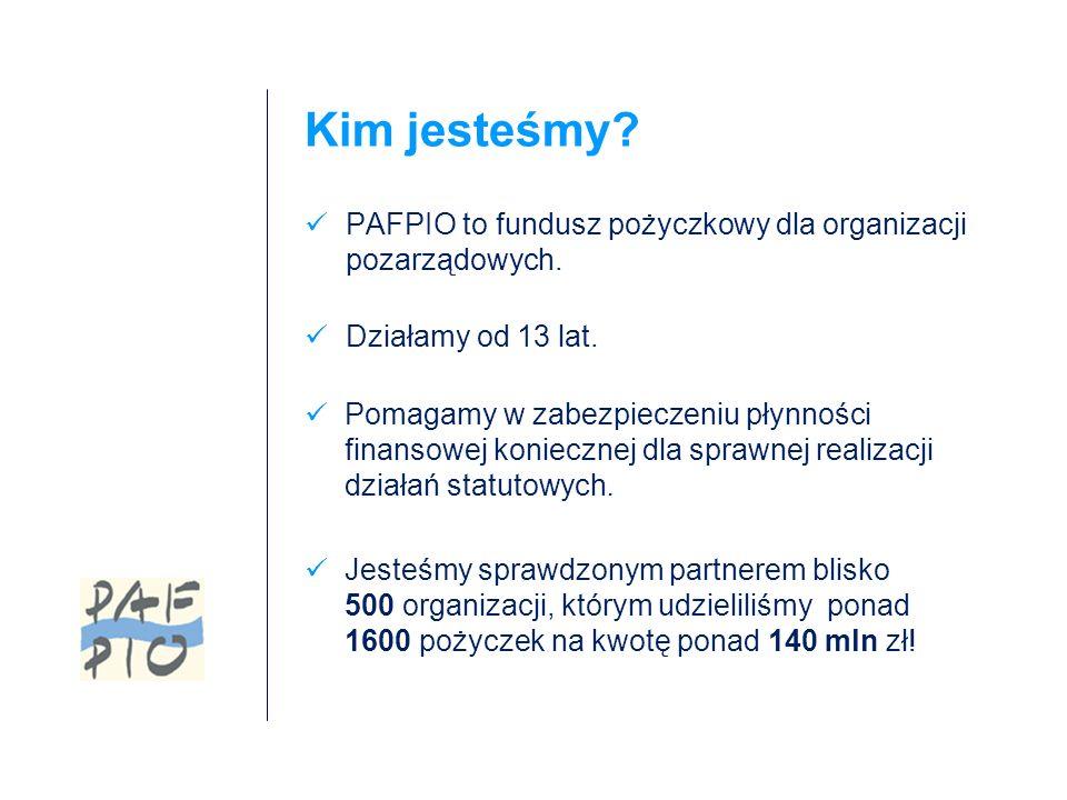Źródła spłaty kapitału i odsetek darowizny przeznaczone na cele ogólne organizacji odpłatna działalność statutowa, np.