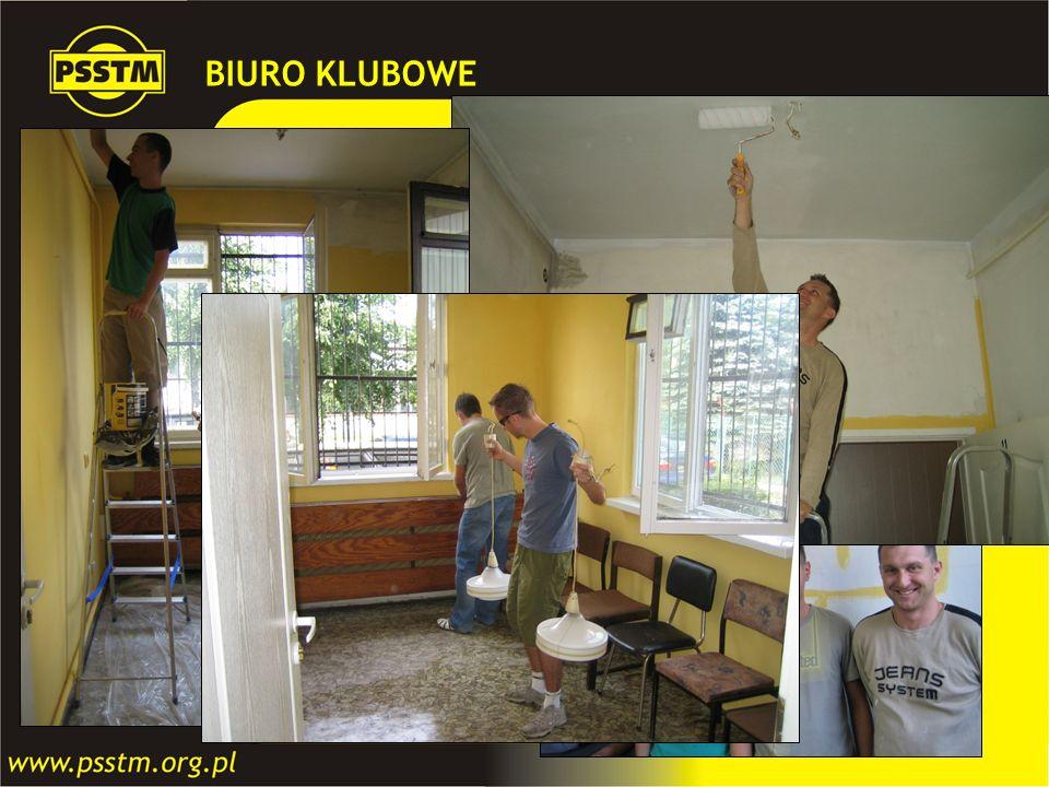 BIURO KLUBOWE W ramach umowy z Zakładem Komunikacji Miejskiej w Gdańsku otrzymaliśmy niewielkie pomieszczenie biurowe na cele działalności statutowej