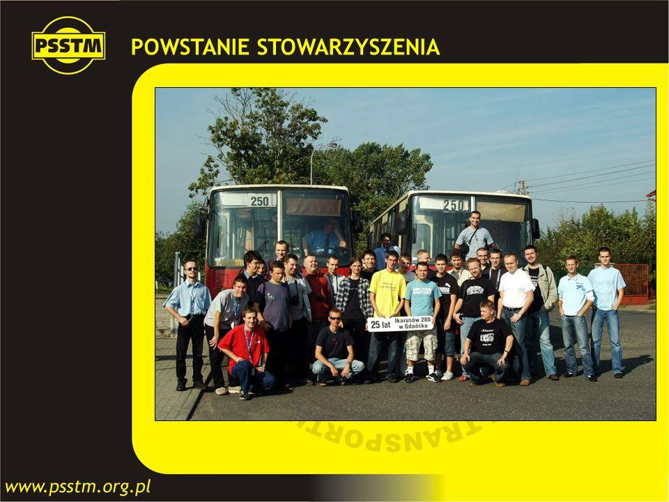 POWSTANIE STOWARZYSZENIA Grupa inicjatywna mająca na celu stworzenie i zarejestrowanie Stowarzyszenia zajmującego się problematyką transportu zbiorowe