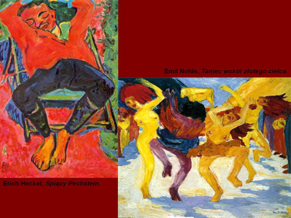 Ad Reinhardt, Czerwony obraz. Barnett Newman, Być I.