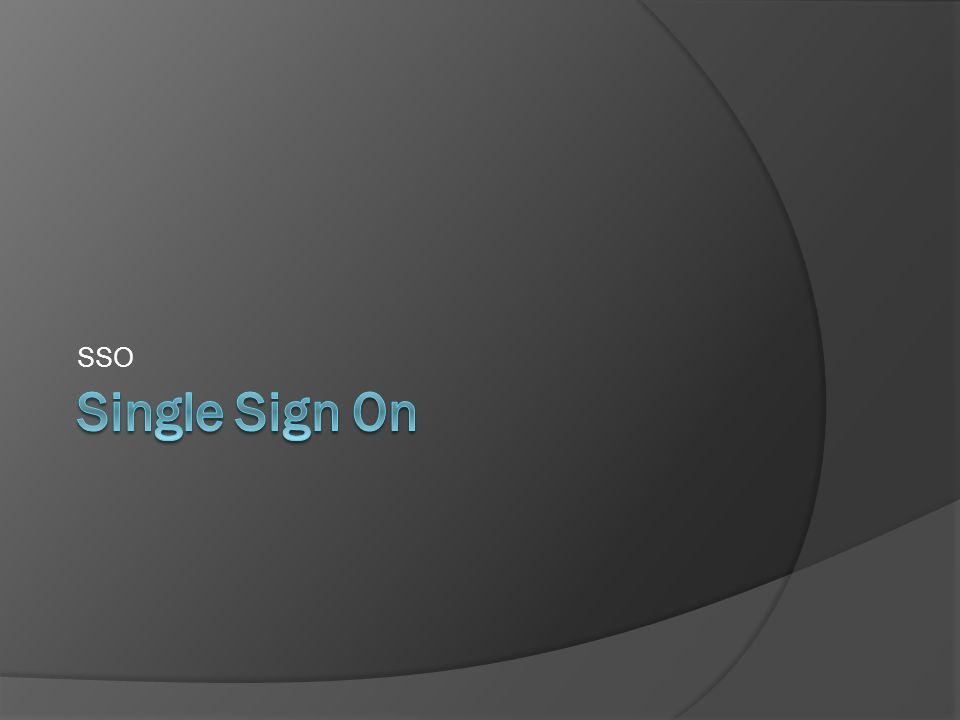 Single Sign On Proces uwierzytelnienia, pozwalający na jednokrotne wprowadzenie danych uwierzytelniających (np.