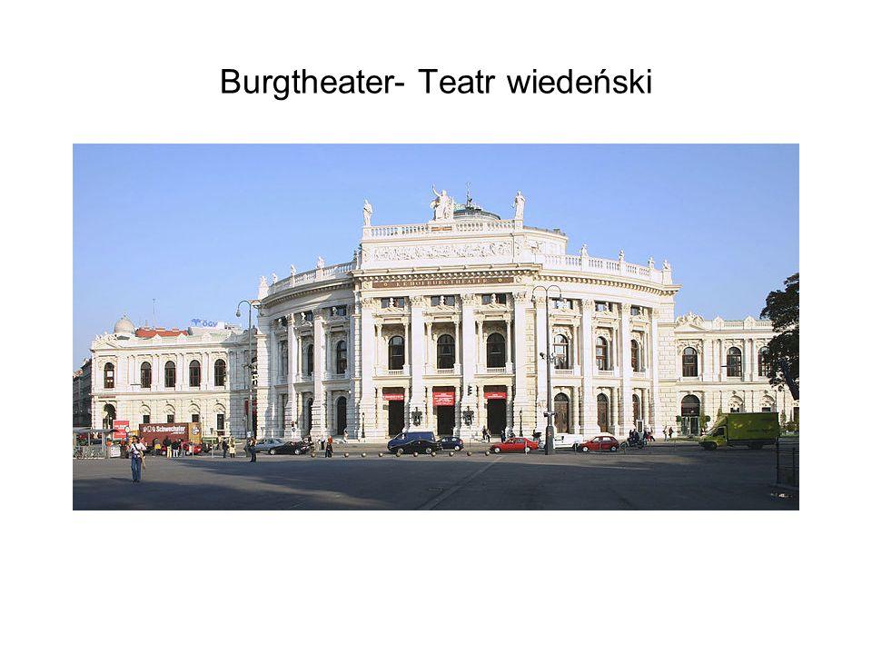 Burgtheater- Teatr wiedeński