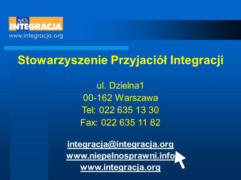 Stowarzyszenie Przyjaciół Integracji ul.