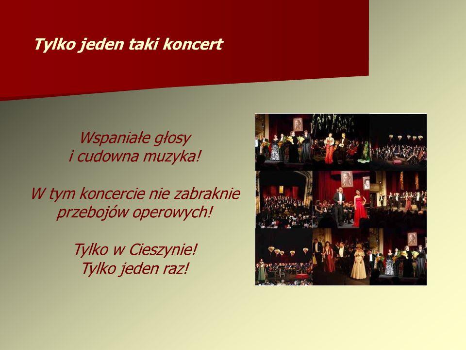 Wspaniałe głosy i cudowna muzyka. W tym koncercie nie zabraknie przebojów operowych.