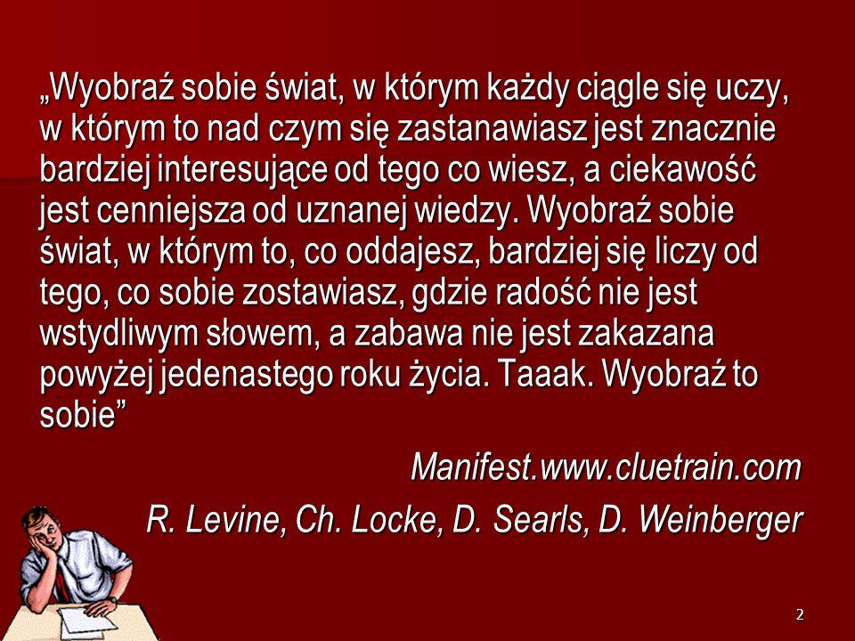 Na barykady… dyrektorze! Irena Dzierzgowska marzec 14marzec 14
