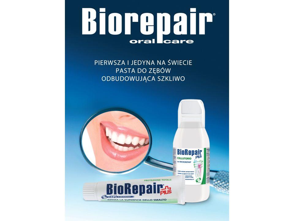 to także akcesoria Nylonowa Nitka BioRepair® do czyszczenia przestrzeni międzyzębowych nasycona cząsteczkami MicroRepair®, które remineralizują i naprawiają uszkodzenia szkliwa.