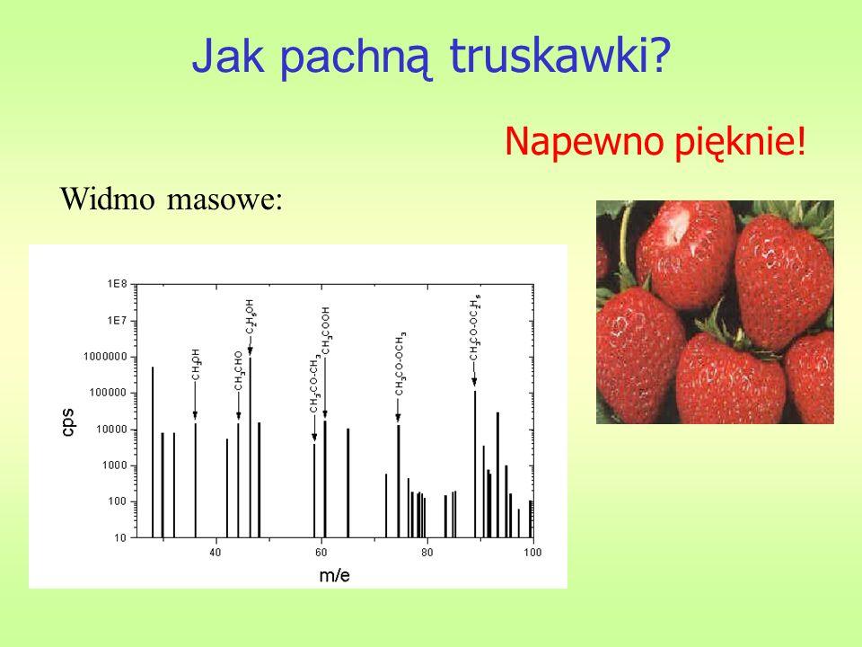 Jak pachn ą truskawki? Widmo masowe: Napewno pięknie!